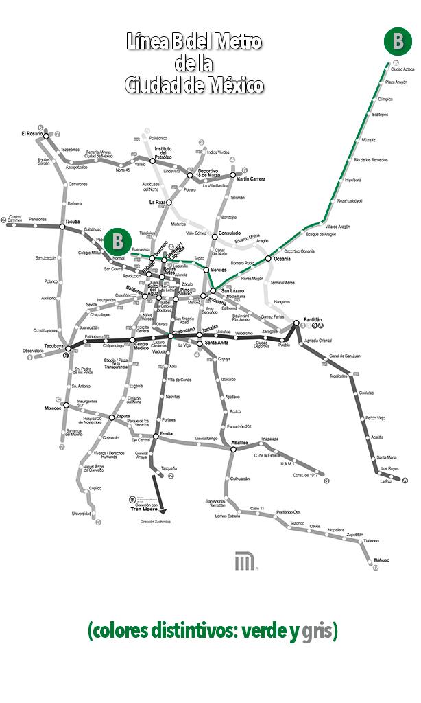 Línea B del Metro de la CDMX