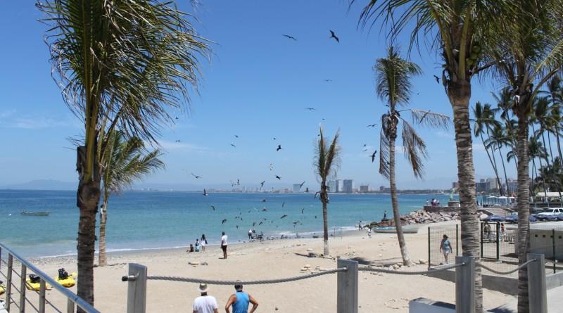 Playas en bahía de Banderas
