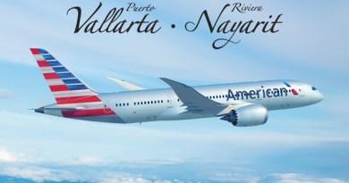 American Airlines con nuevo vuelo Puerto Vallarta