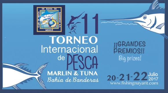 11º Torneo Internacional de Pesca Marlin y Atún de Bahía de Banderas