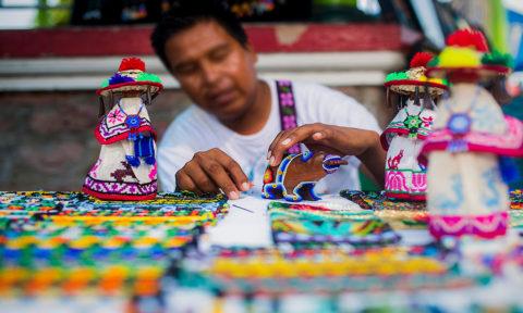 Arte Huichol o Wixárika
