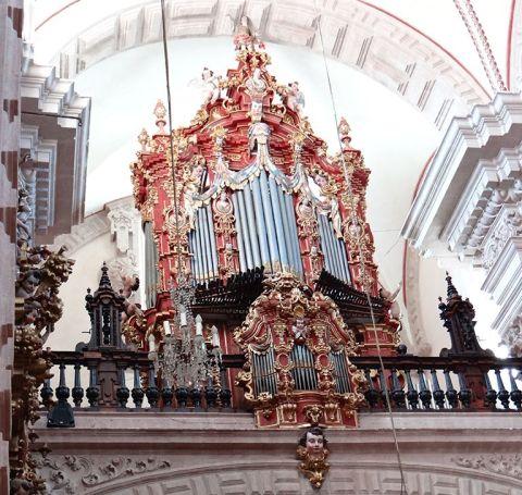 Órgano monumental de Santa Prisca en Taxco
