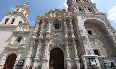 Catedral de la ciudad de Saltillo. Fray Gregorio