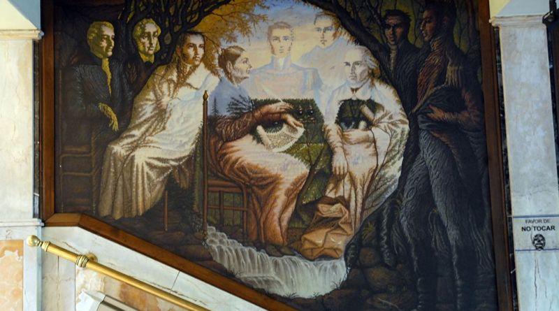 Mural en el Palacio Municipal de Celaya.