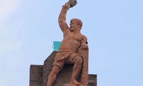 El Pípila héroe de la toma de Guanajuato