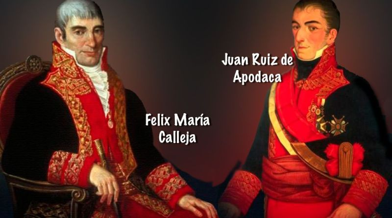 Calleja y Apodaca en la lucha insurgente