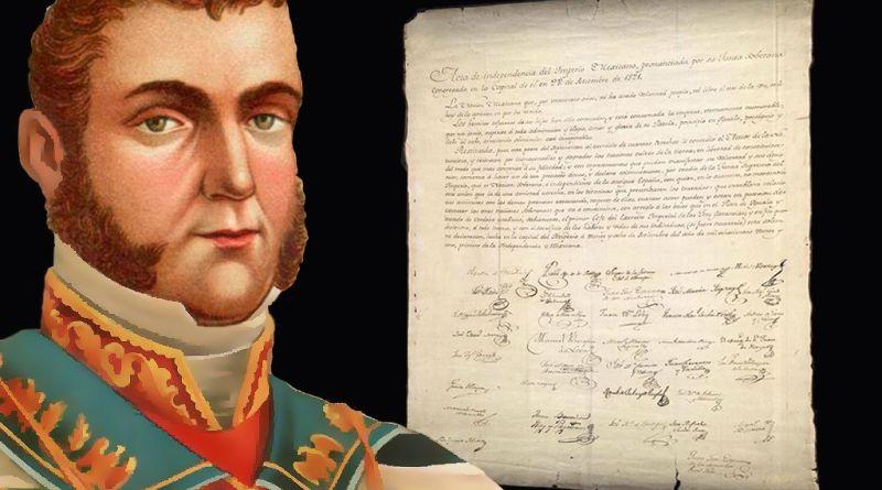 Consumación de la Independencia. Acta de Independencia del Imperio Mexicano