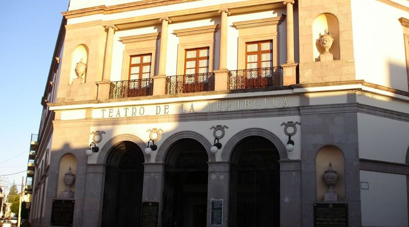 El Teatro de la República en la ciudad de Querétaro.