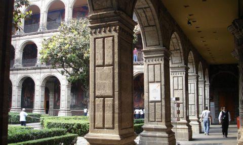 San Idelfonso en el Centro Histórico de la CDMX