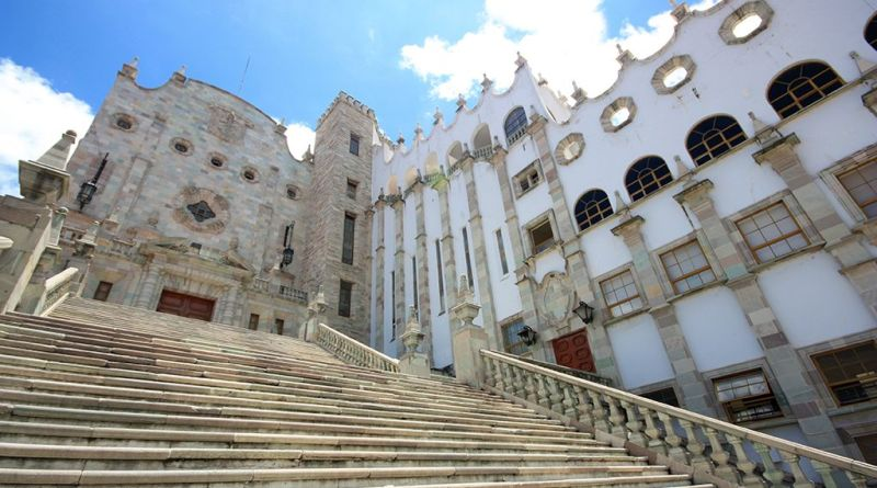 Fachada de la Universidad de Guanajuato