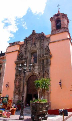 Templos en Guanajuato: San Diego.
