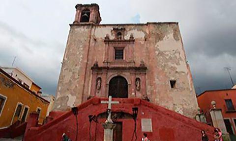 Templos en Guanajuato: San Roque.