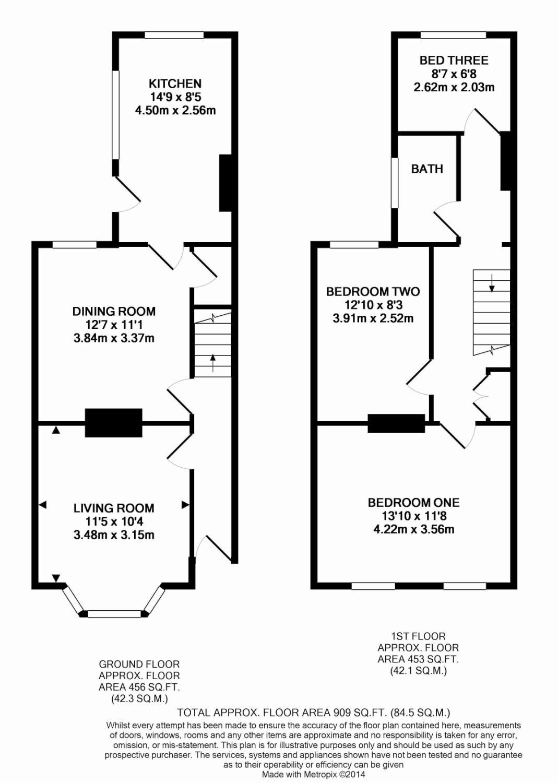 3 Bedroom Property To Rent In New Road Basingstoke Rg21