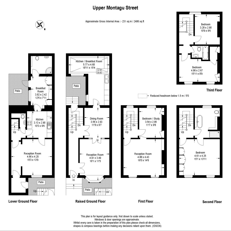 6 Bedroom Property For Sale In Upper Montagu Street