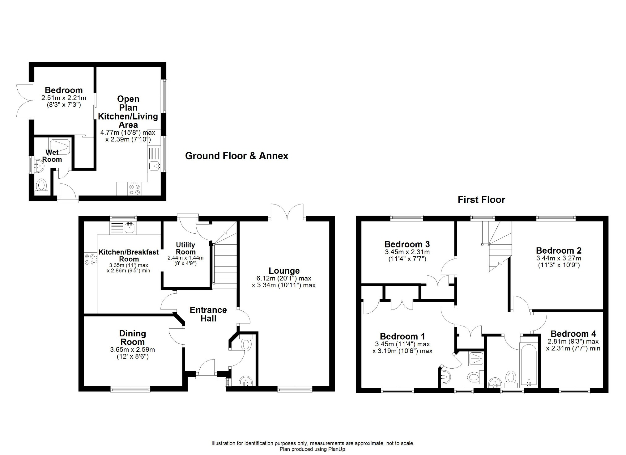 4 Bedroom Property For Sale In Balmoral Close Chippenham