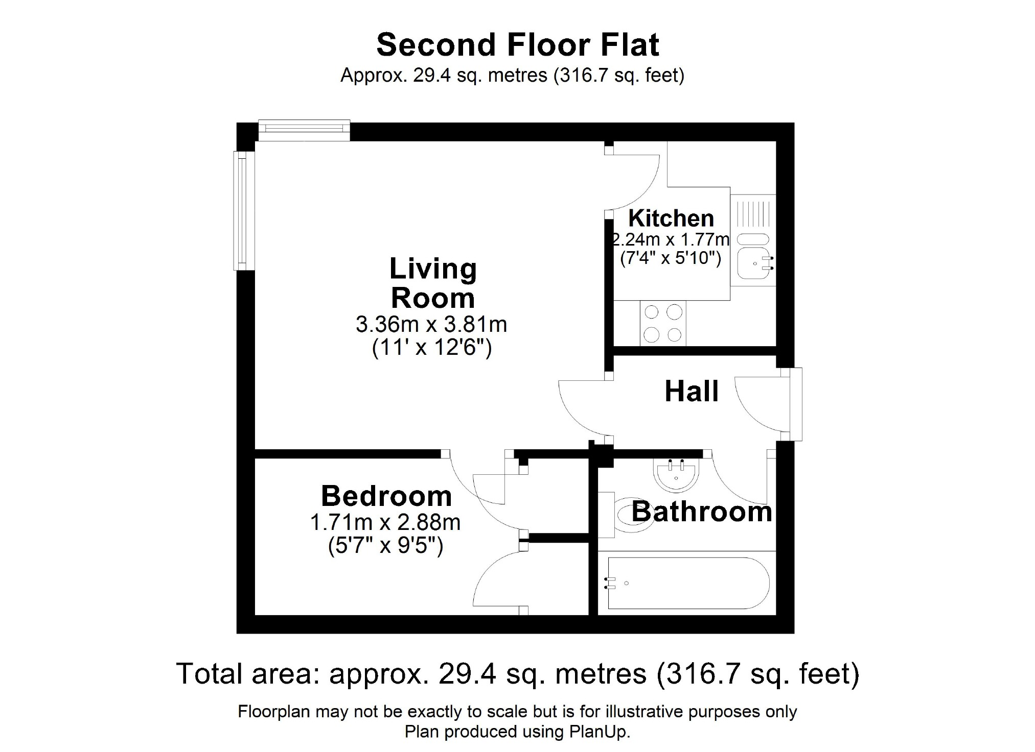 1 Bedroom Property For Sale In Castle House Calne