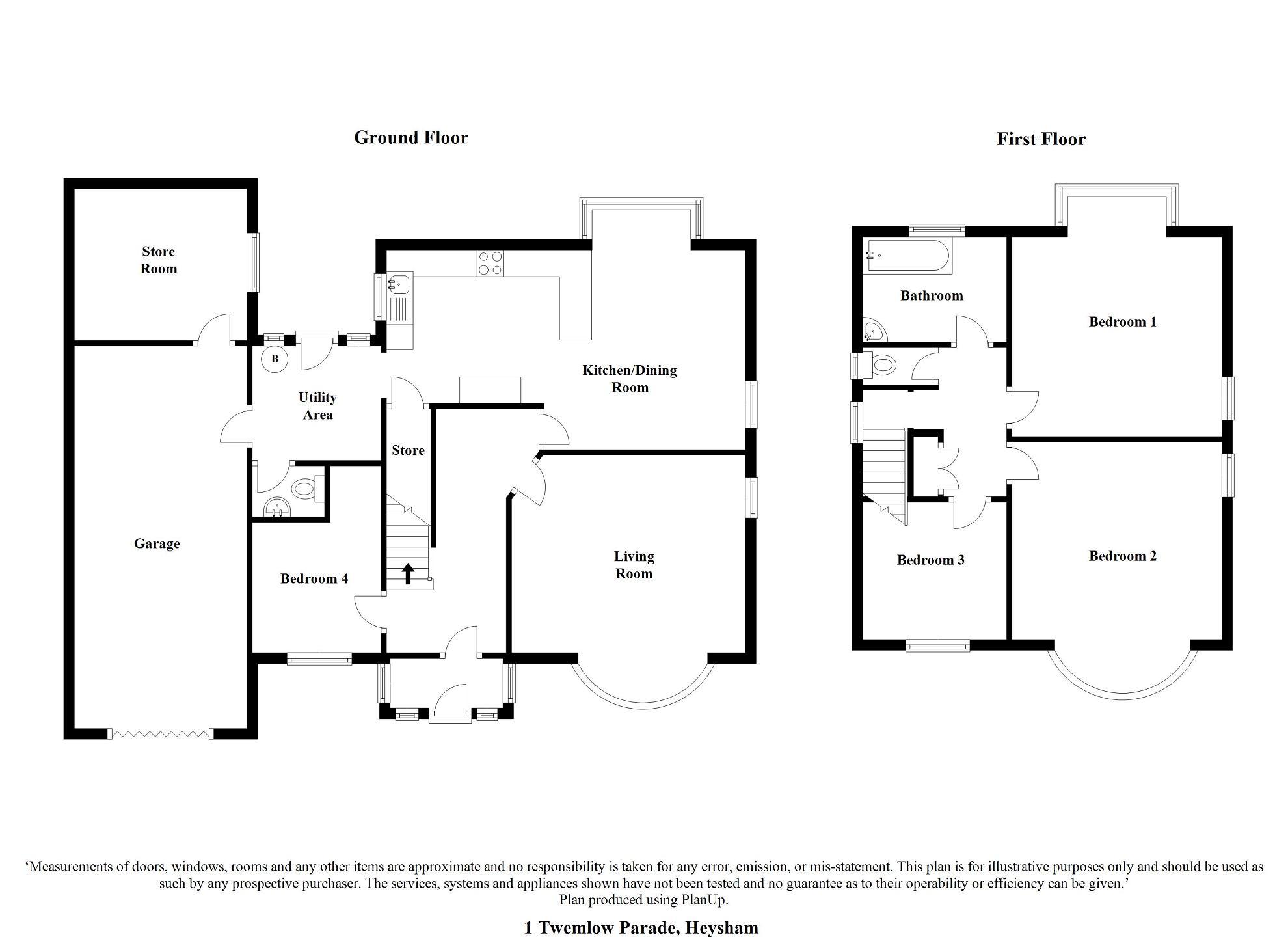 4 Bedroom Detached House For Sale In Twemlow Parade
