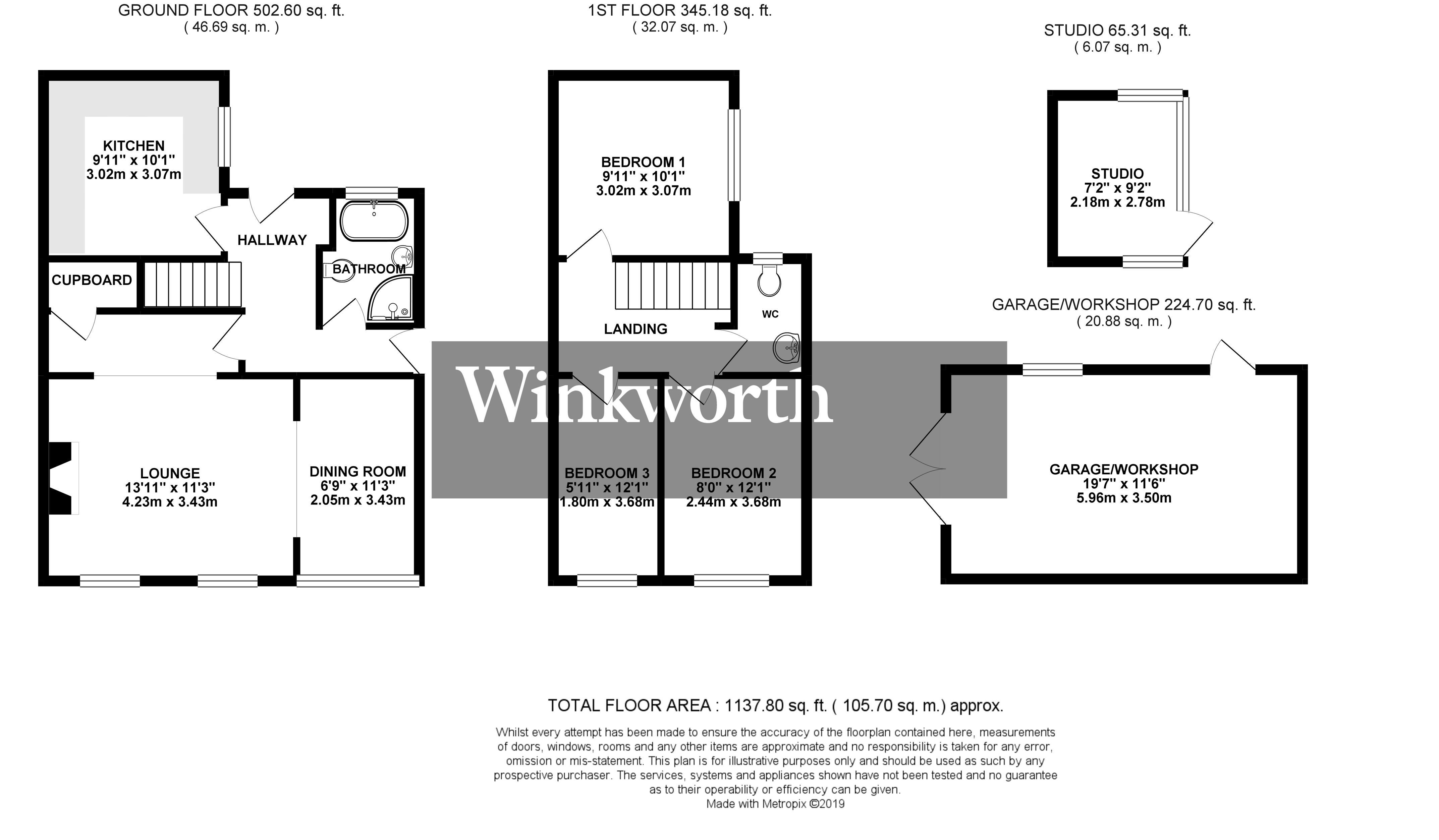 3 Bedroom Property For Sale In Loddon Corner Road