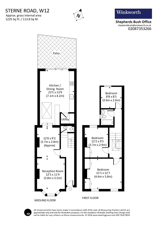 3 Bedroom Property To Rent In Sterne Street Shepherds