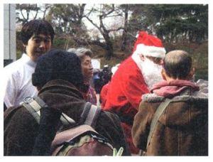 路上生活者のクリスマス会