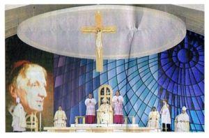 列福式を司式した教皇