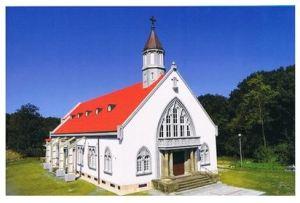 再生したザビエル教会