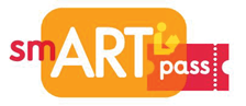 Smart Pass Logo in Orange and Red with White lettering