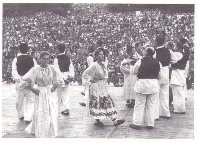 Jedan od nastupa u Maksimiru pred mnoštvom gledatelja