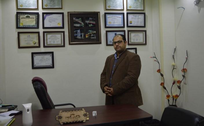 المدرب احمد جمعة