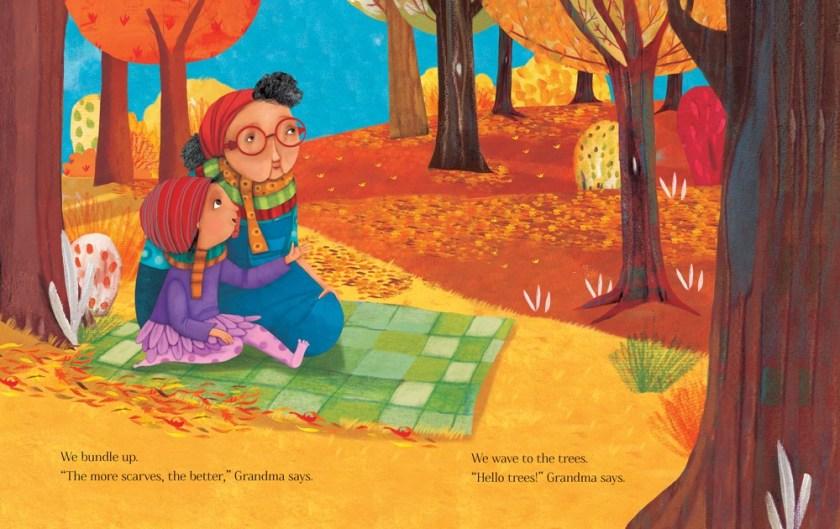 """""""Dance Like a Leaf"""", de AJ Irving, con ilustraciones de Claudia Navarro"""