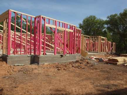 House Framing Front