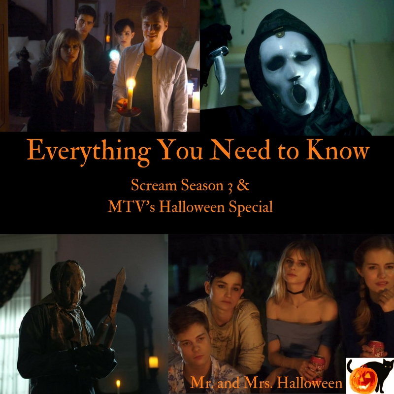 Everything You Need to Know: Scream Season 3 & MTV's Halloween Special