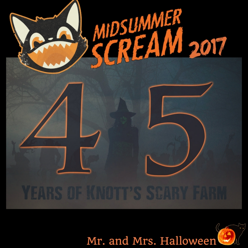 "Midsummer Scream Announces ""45 Years of Knott's Scary Farm"" Presentation"