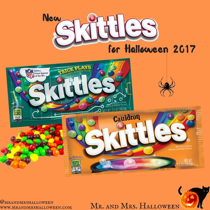 New Skittles for Halloween 2017