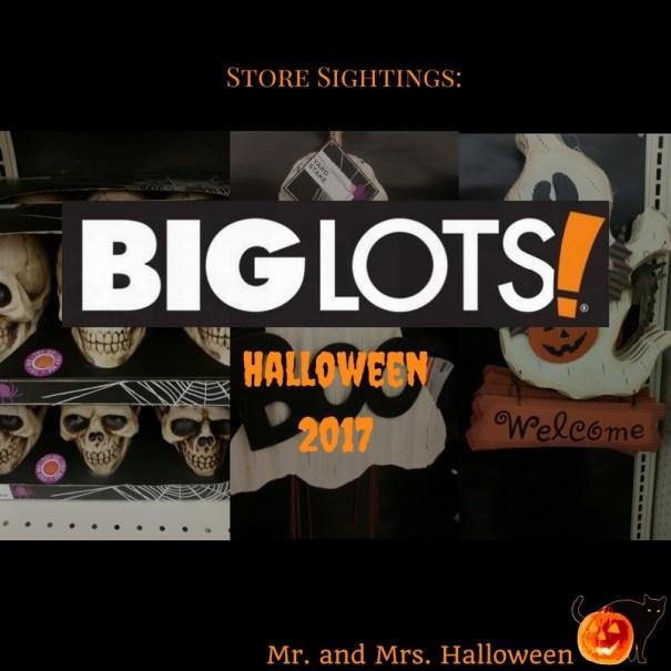 Store Sightings big lots Halloween 2017