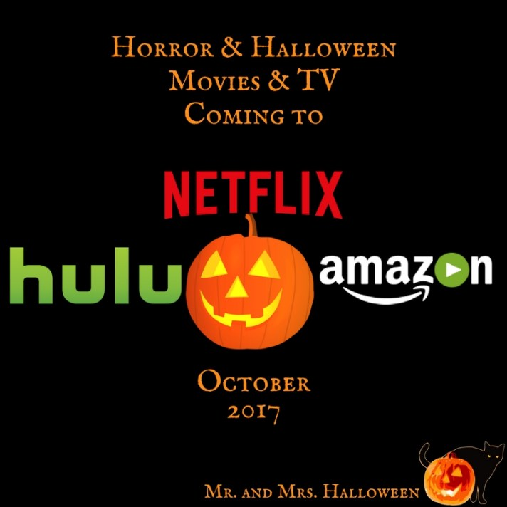 Horror & Halloween Movies & TV Coming to Netflix, Hulu, & Prime ...