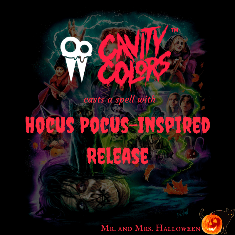 Cavity Colors Casts a Spell with 'Hocus Pocus'-Inspired Release