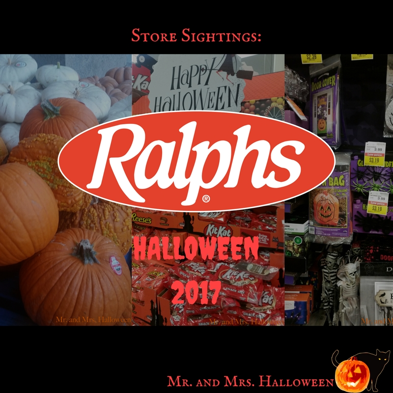 Store Sightings: Ralphs Halloween 2017