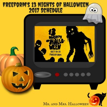 Freeform's 13 Nights of Halloween 2017 Schedule
