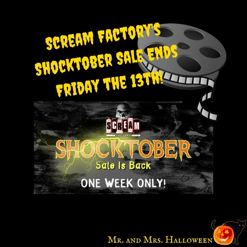 Scream Factory's Shocktober Sale Ends Friday!