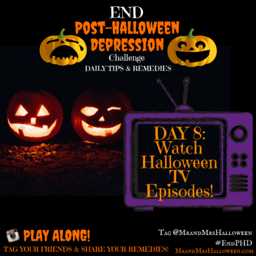 End Post Halloween Depression Halloween TV Episodes