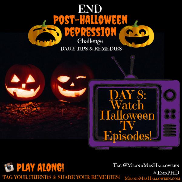 End Post Halloween Depression Halloween TV Episodes