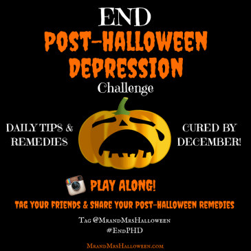 End Post-Halloween Depression