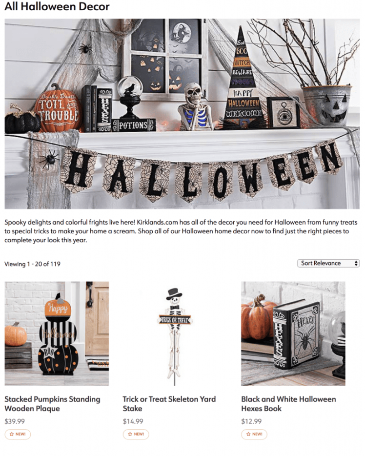 Halloween 2018 Decor Halloween Hunt Mr and Mrs Halloween