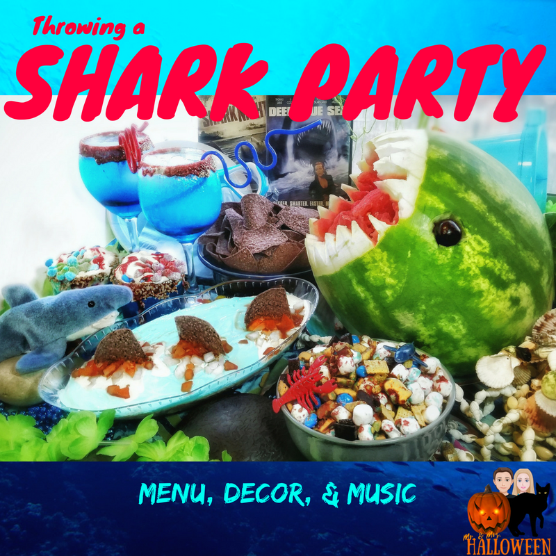 Shark Party: Menu, Decor, & Music To Make Your Party a Splash!