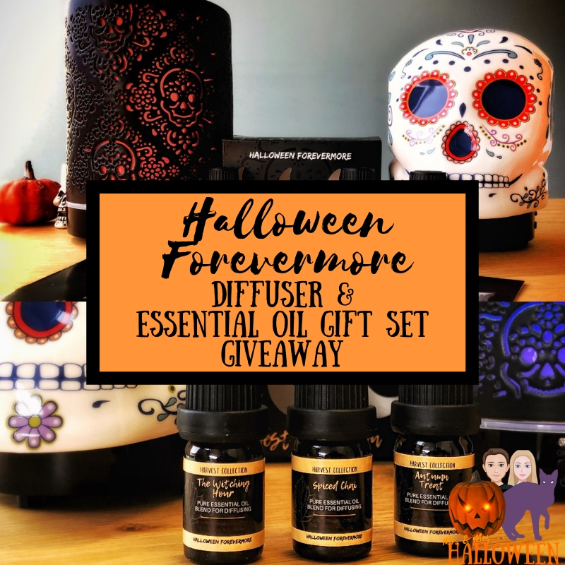 Halloween Forevermore Essential Oil Diffuser Giveaway!