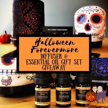 Mr and Mrs Halloween Halloween Forevermore Giveaway Wax Warmer Oil Diffuser Halloween