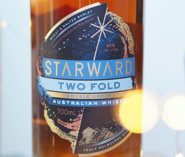 Last Minute Christmas Gifts Starward Two Fold Whisky