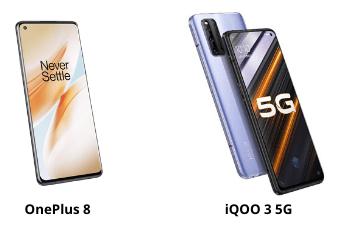 oneplus 8 vs iqoo 3