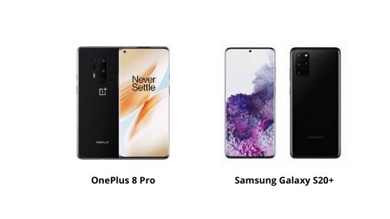 OnePlus 8 Pro vs Samsung S20+